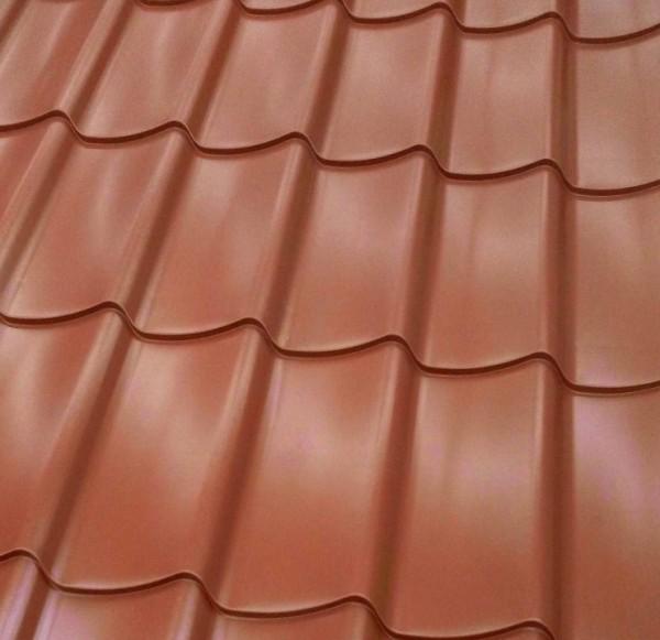 latest panneau imitation tuile terracotta with toit en plaque fausse tuile. Black Bedroom Furniture Sets. Home Design Ideas