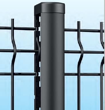 cl ture rigide gris anthracite pour bricoler malin 25. Black Bedroom Furniture Sets. Home Design Ideas