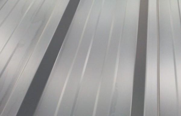 Bac acier gris longueur 2.10 m