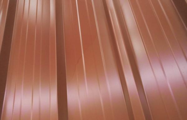 Bac acier rouge longueur 2.10 m
