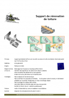 Rénovation toiture fibrociment – fiche technique