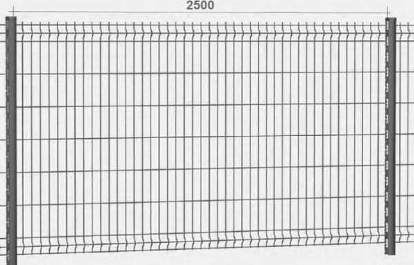 Panneau gris anthracite 103 x 250 cm