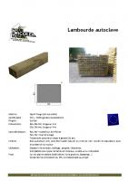 Lambourde – fiche technique