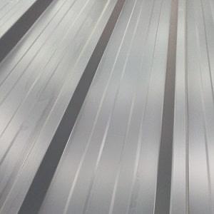 Bac acier gris