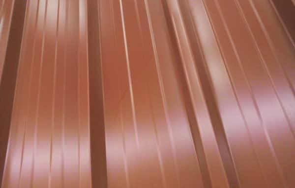 Bac acier rouge longueur 3,50 m